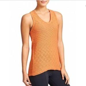 Nwt Athleta Buena Vista Sweater Tank Top Orange